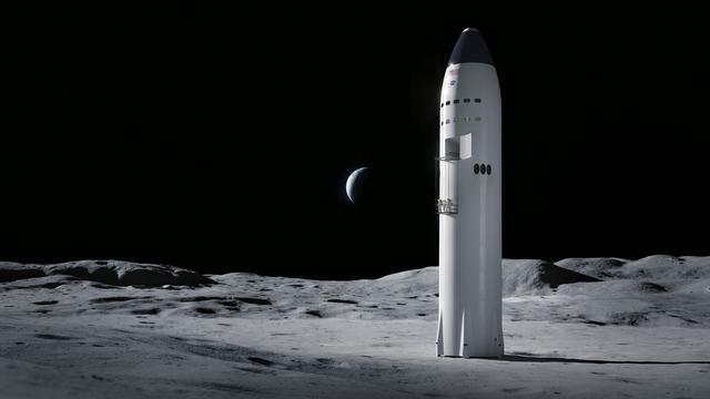 """SpaceX""""星舰""""着陆器概念图"""