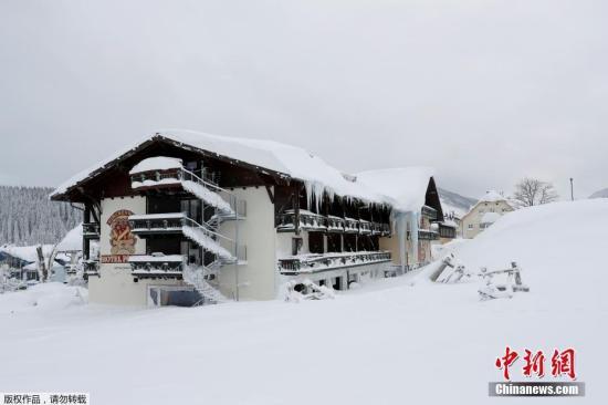 法国阿尔卑斯山区发生雪崩造成至少3人丧生