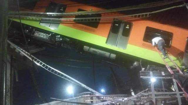 墨西哥轨交高架坍塌已致15死70伤,外长呼吁调查原因