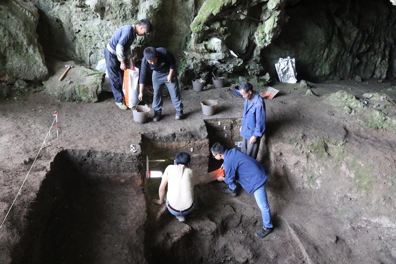 贵州招果洞遗址:从四万多年前一直看到新石器时代
