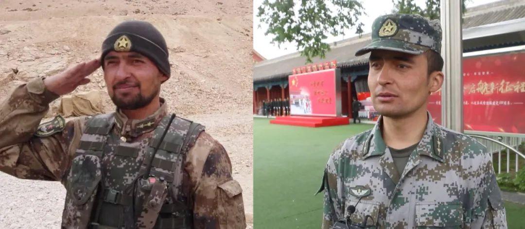喀喇昆仑戍边卫士把在班公湖升起的国旗带到北京……