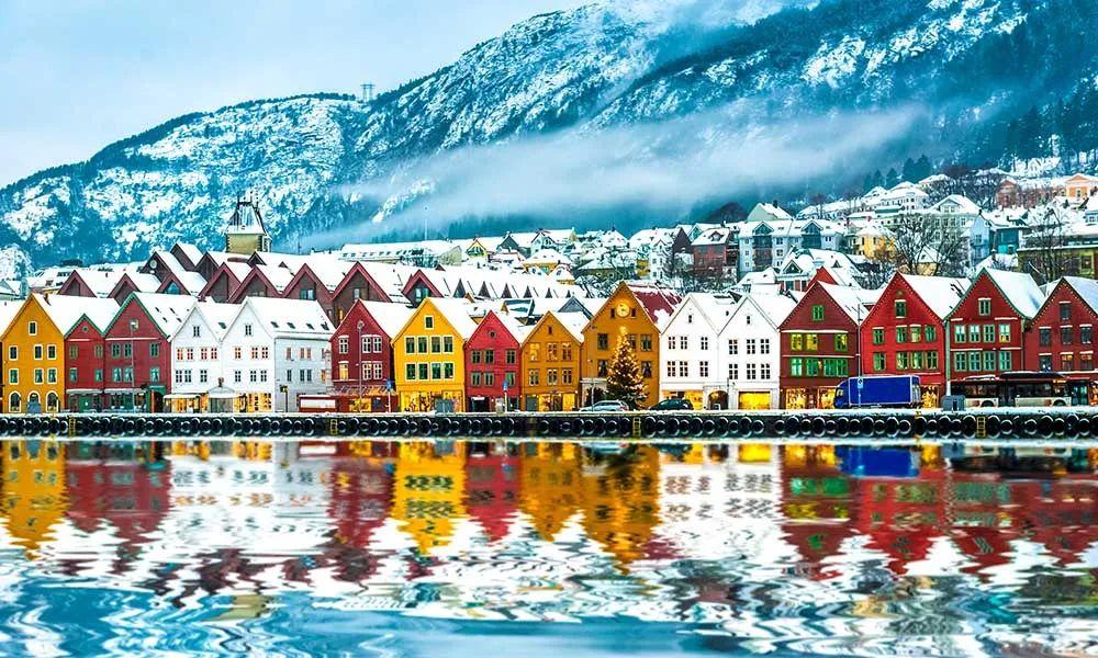 ●冬天的挪威。据说,北欧寒冷的天气影响了北欧人的性格 图源:网络