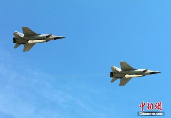 美国侦察机抵近俄罗斯领空 俄出动米格-31拦截