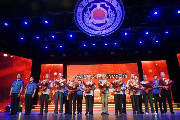 丹阳市城管系统举办庆祝建党100周年歌会