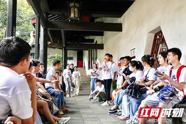 长沙理工大学研究生赴岳麓书院开展党史学习体验式活动