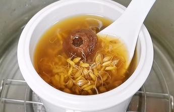 端午节解腻 谷麦芽陈皮瘦肉汤