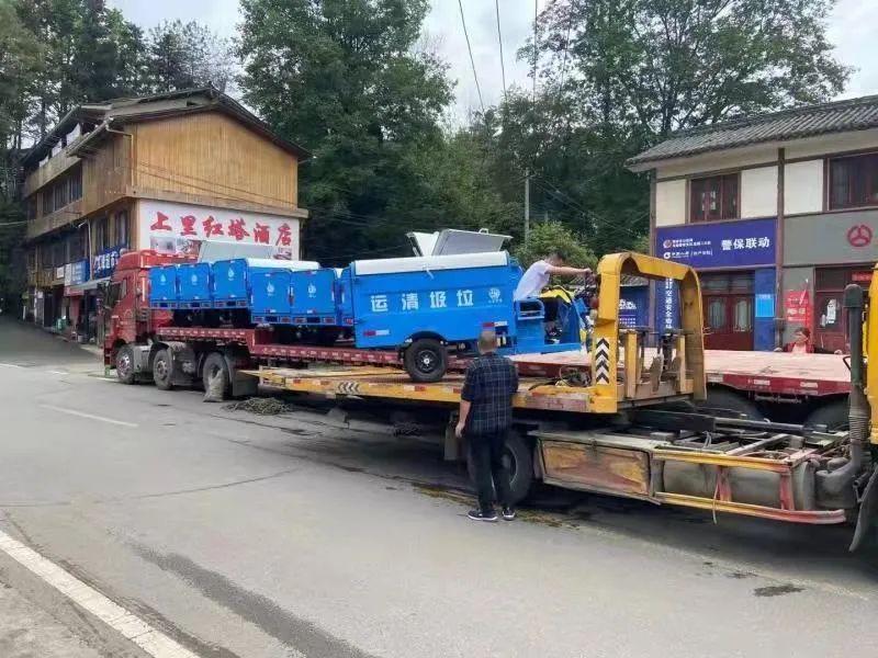 """村民一句""""吐槽""""话 小镇新增了35台垃圾转运车"""