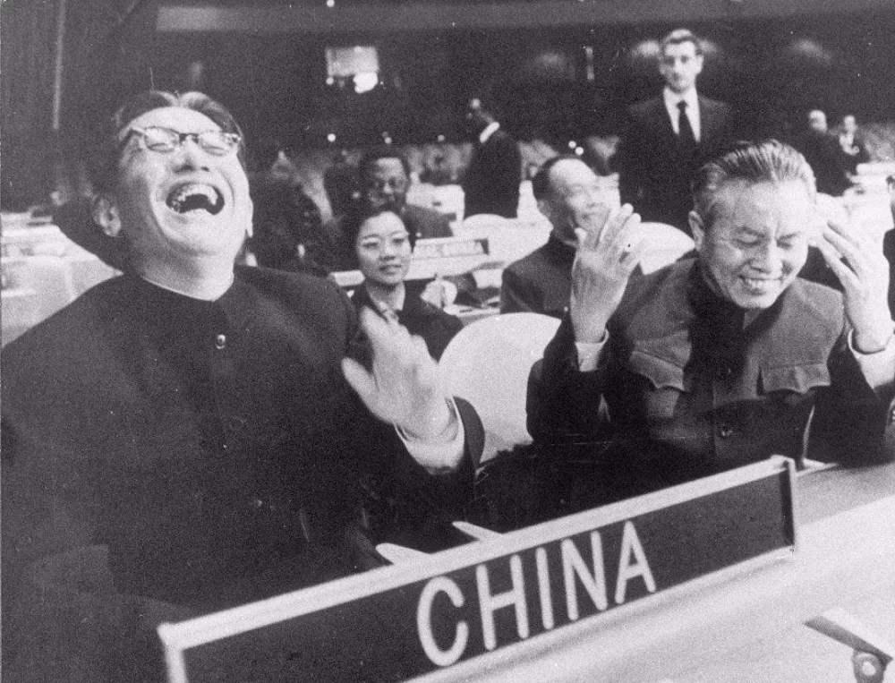 【中国席位】得道多助,昂首重返联合国