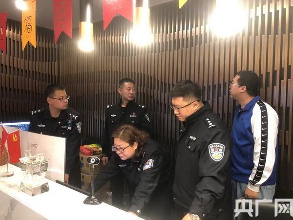 赤峰市克什克腾旗公安局治安大队开展特种行业安全大检查
