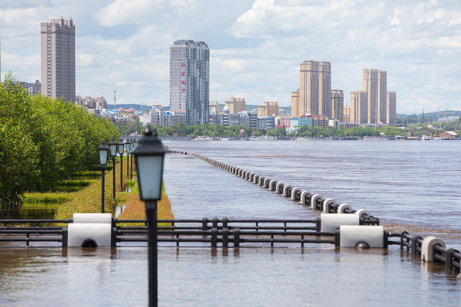黑龙江干流黑河站预计6月11日晚迎来洪峰过境