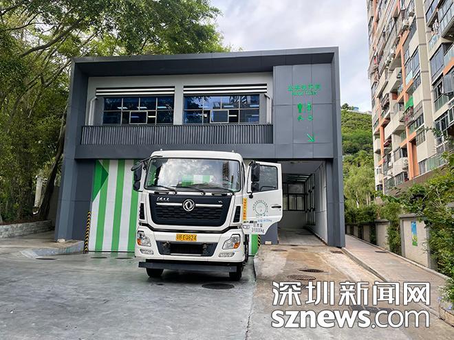 民生盐田丨网友反映垃圾转运站散发异味 相关部门及时整治