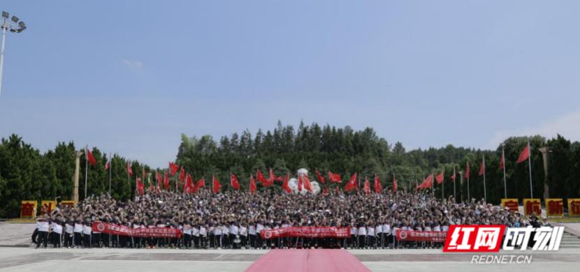 """中学生当""""农产品推荐官"""" 长沙一学校学子为乡村带货"""