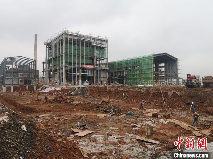 """工业污染区""""长出""""生态科技城 湖南株洲清水塘老工业基地加速蜕变"""