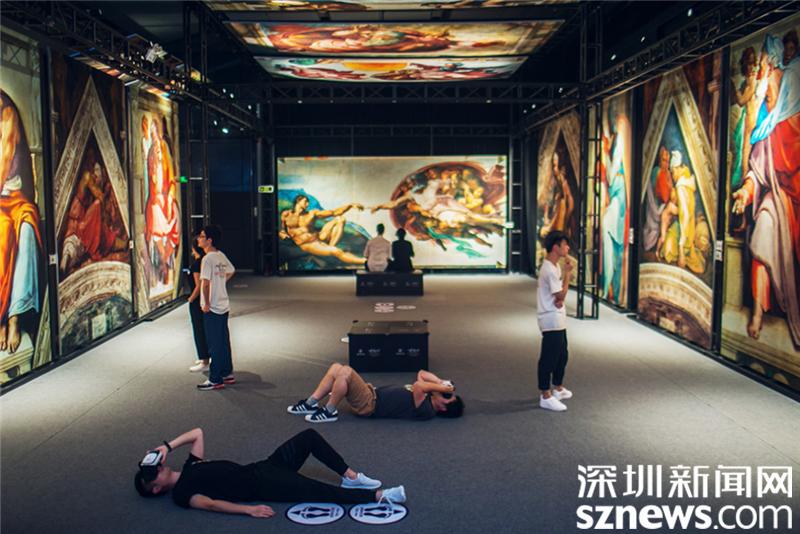 """西斯廷教堂壁画""""搬""""到了深圳  来龙岗看国际艺术大展啦!"""