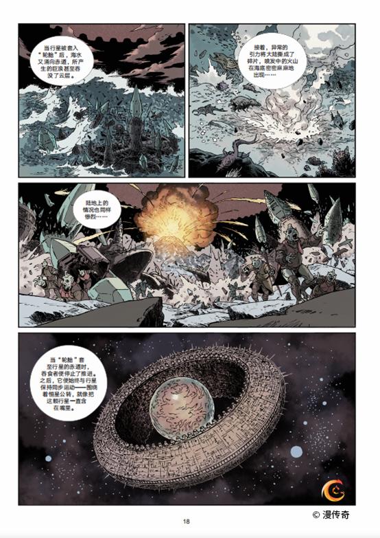 """福利丨这套科幻漫画,再现了刘慈欣的""""思想实验"""""""