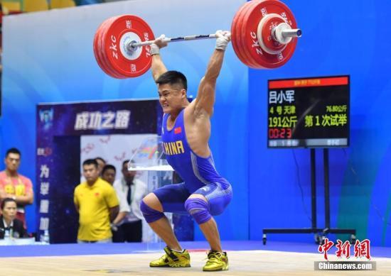 中国举重队公布奥运参赛名单 石智勇、吕小军再战奥运