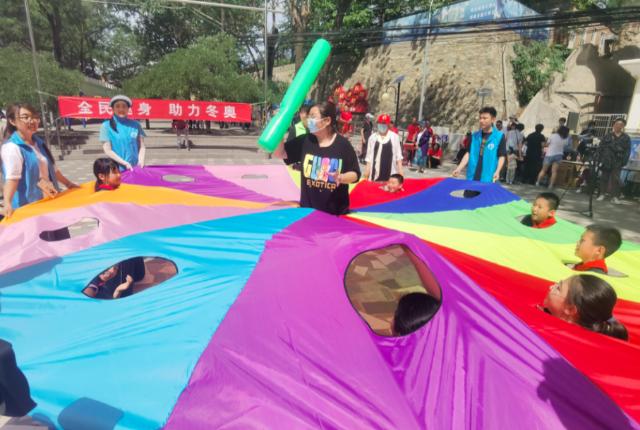 庆端午,石景山区五里坨街道举办趣味运动会