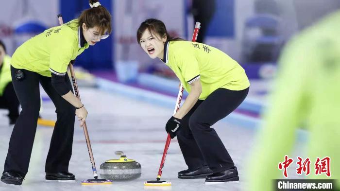 中国冰壶冠军赛收官 系2022冬奥会前最后一场全国赛