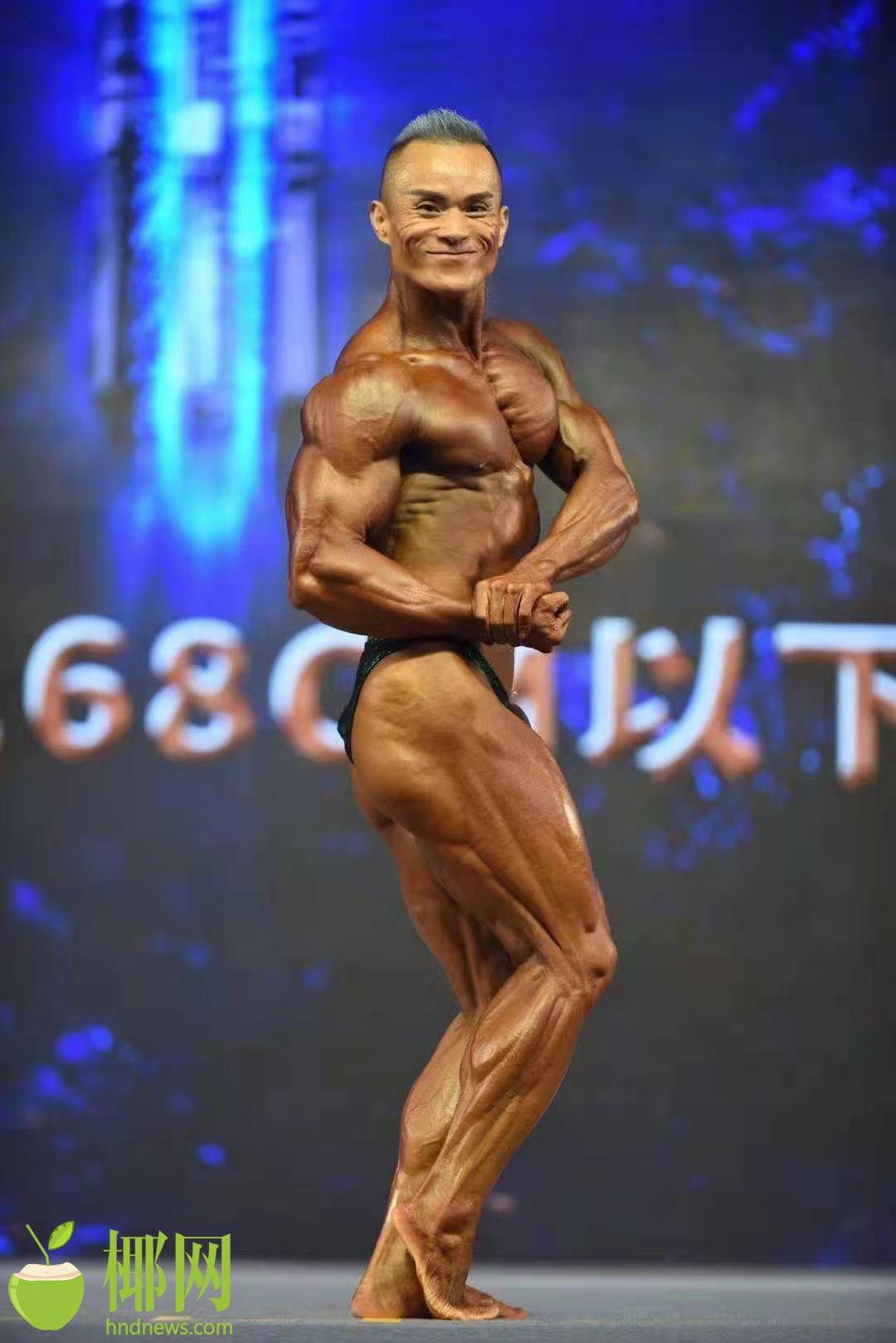 海南选手斩获中国健美健身精英职业联赛古典健美总冠军