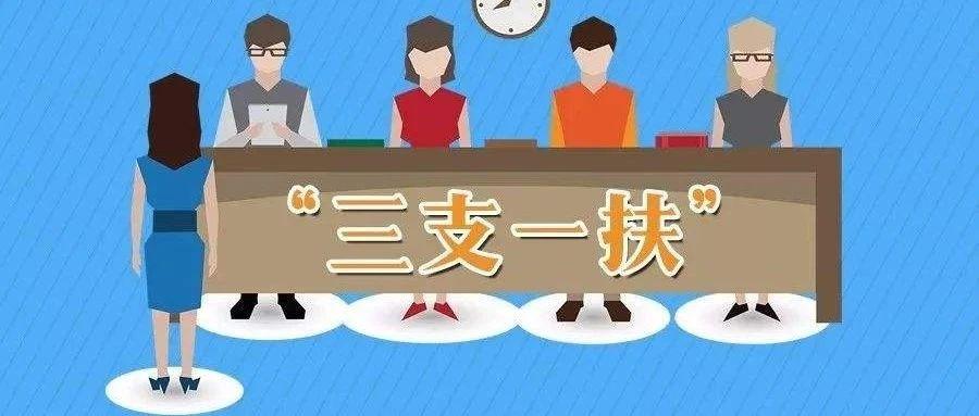 """2021年江西省高校毕业生""""三支一扶""""计划招募公告发布!"""