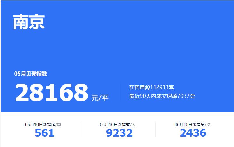 库存超11万,为何南京二手房还在涨