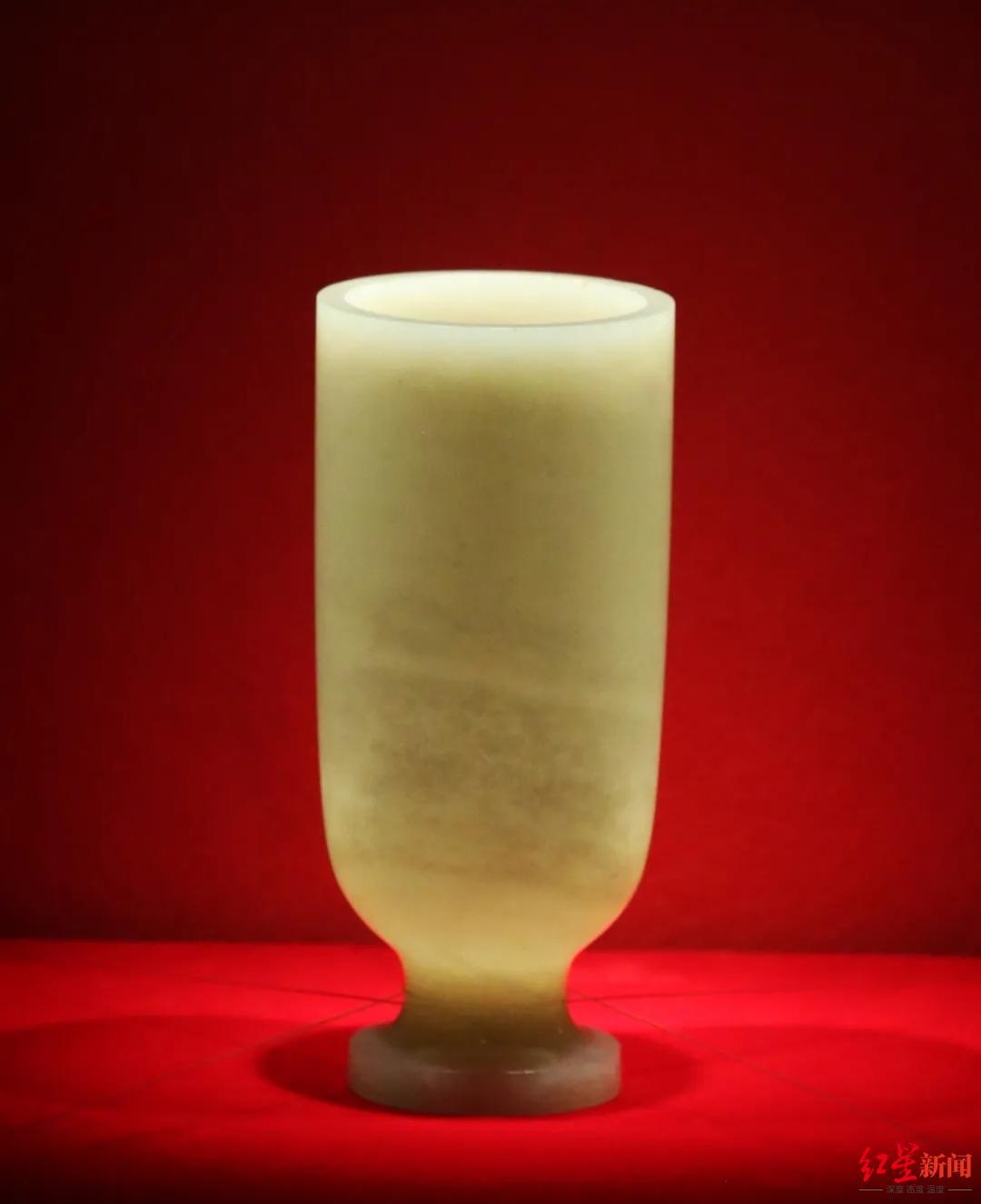 """三国珍宝""""白玉杯""""空降武侯祠:也许是曹丕喝葡萄酒的""""夜光杯"""""""