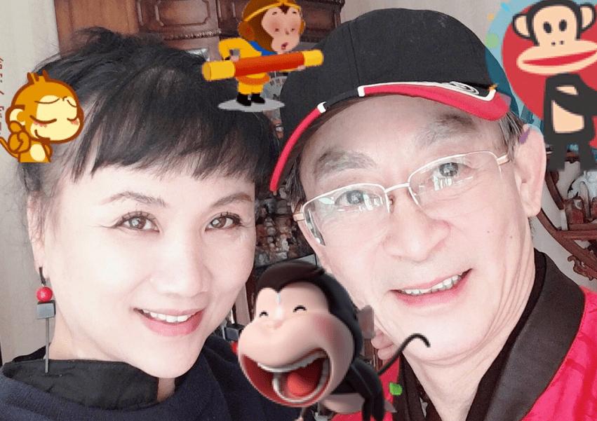 六小龄童与爱妻于虹庆结婚33周年 高颜值女儿出镜幸福满溢