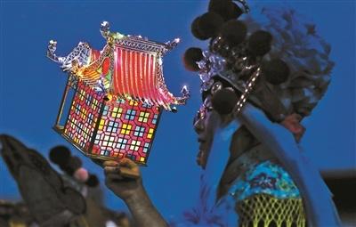 """北京延庆:戏楼灯笼""""玩家""""的非遗传承之路"""