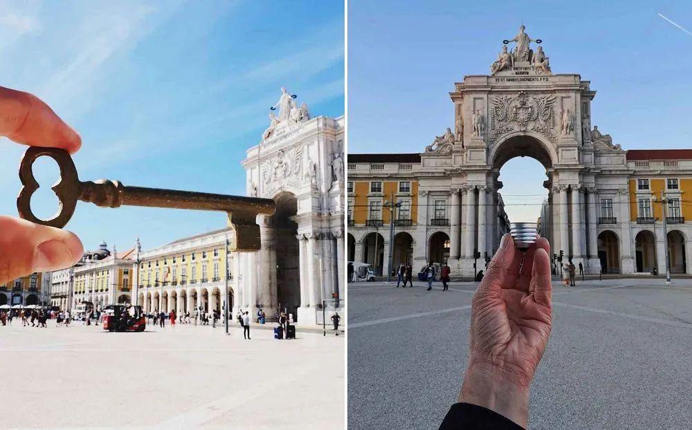 葡萄牙摄影师Hugo Suíssas的幽默错位摄影