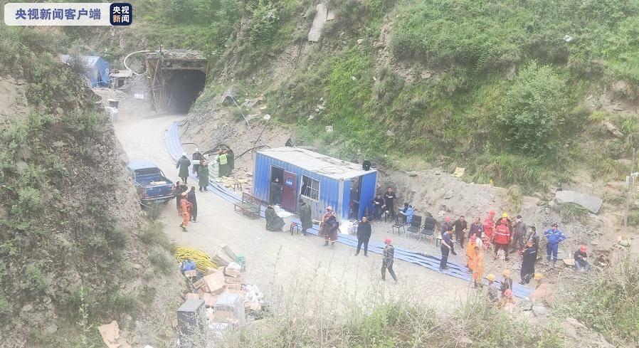 """山西代县""""6·10""""透水事故救援正在进行 所在区域遭遇强降雨"""