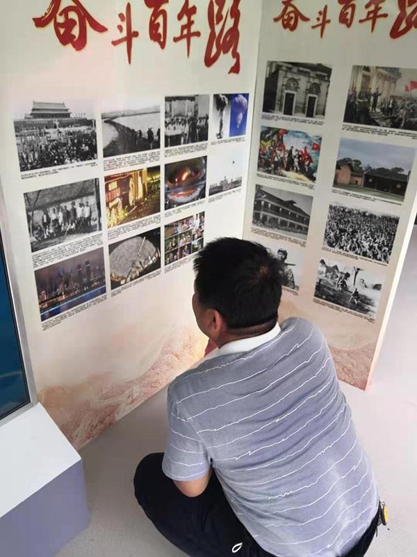 巡展现场|徐州市民动情打卡:我的父亲参加过淮海战役