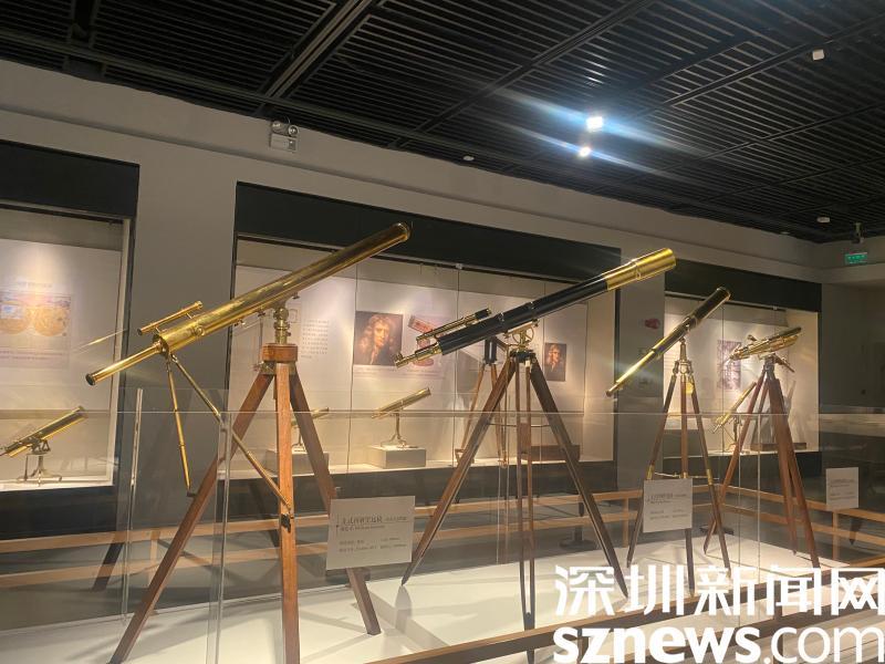 """40余架古董望远镜齐亮相 快来打卡深博""""眼界""""展"""