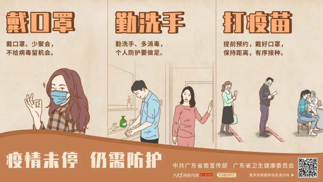 广州新增6例本土确诊,涉及这些重点活动场所→