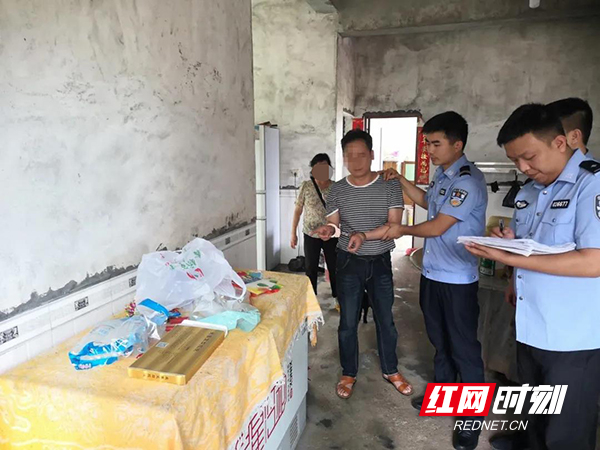 衡阳县警方破获系列入室盗窃案