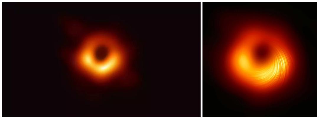 """时隔两载""""黑洞""""翻新:人类首次获得黑洞边缘的高清照片"""