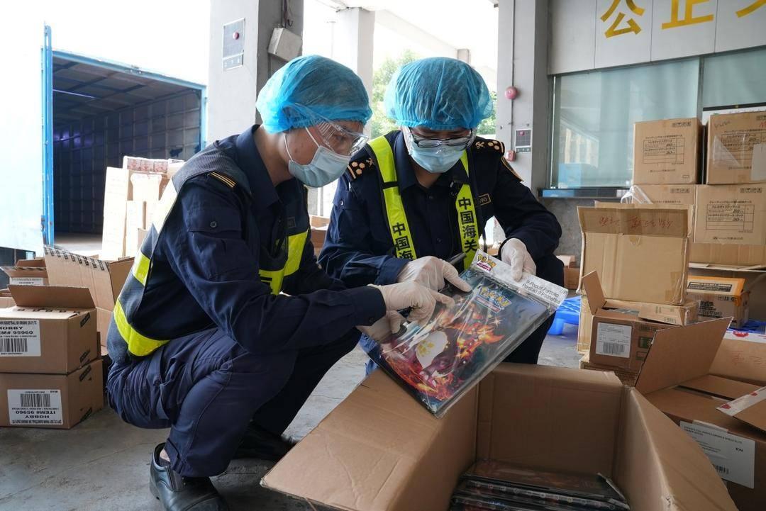 粤港澳海关联合执法保护知识产权 广东海关查获侵权货物超242.1万件