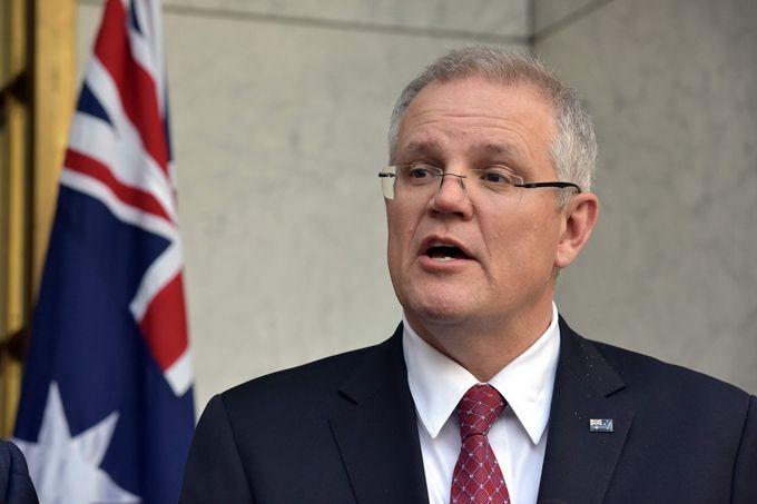 """外媒:莫里森表态""""澳大利亚希望重启与中国的对话"""""""