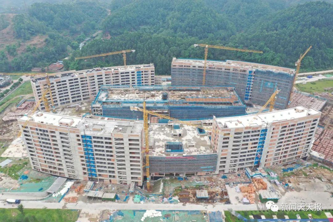 乐山市新区医院,预计明年10月完工