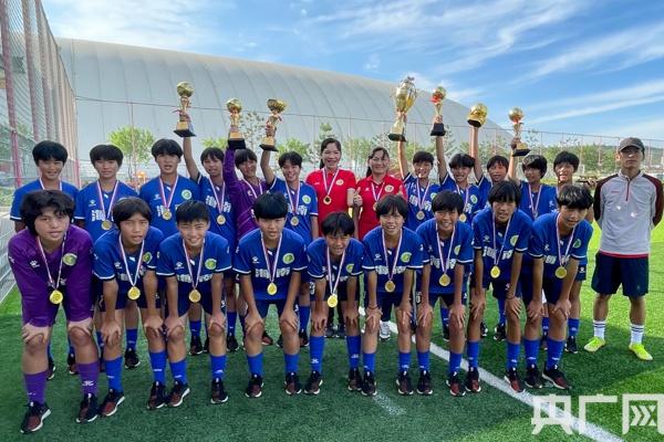 琼中女足夺得中国中学生足协杯初中组冠军