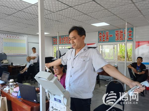青岛公交联合全民健身体检中心 为一线驾驶员免费体检