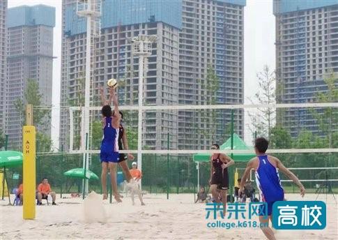 成都体育学院与省排球中心共建的青年沙滩排球队获全运会出线权