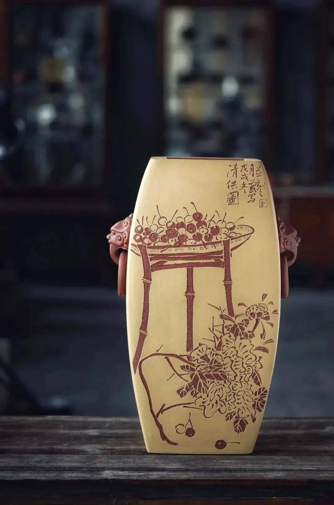 马为民:书画陶刻的艺术