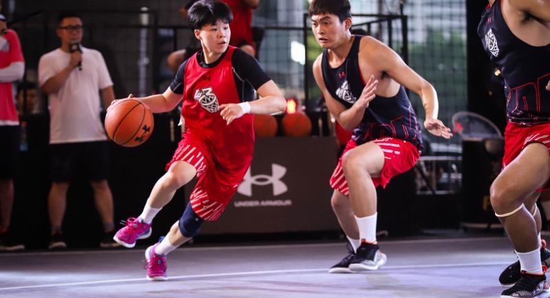 首届LET'S 3三人篮球赛全国总决赛火热开赛