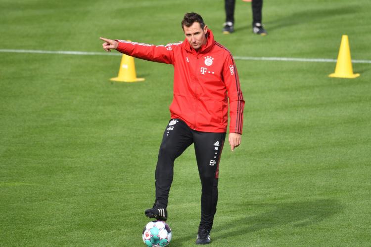 体图:弗里克劝说克洛泽加入德国教练组,但被后者拒绝