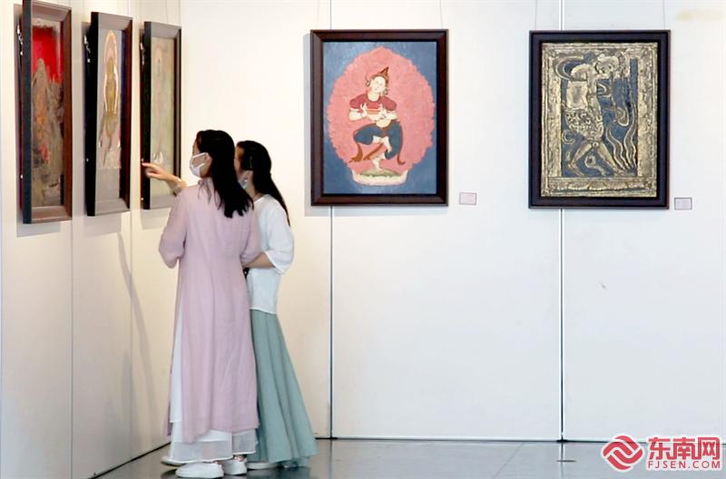 唐卡漆画:从尝试到接受,闽昌文化交融开出花