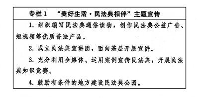 《中央宣传部、司法部关于开展法治宣传教育的第八个五年规划(2021-2025年)》