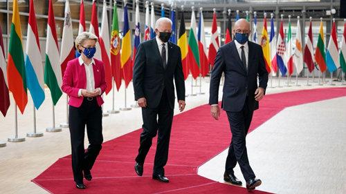 海外网评:美欧峰会口气大、成果少