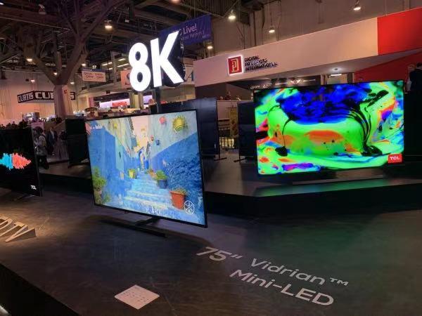 中国新型显示产业去年营收超4000亿元 占全球40%