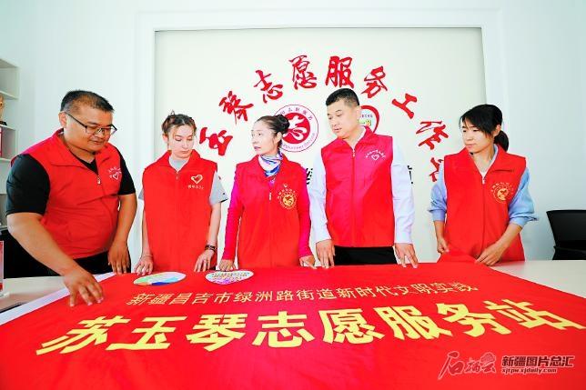 【风展红旗 党在新疆100年·遍地风流㉑】苏玉琴:用志愿服务和癌症赛跑