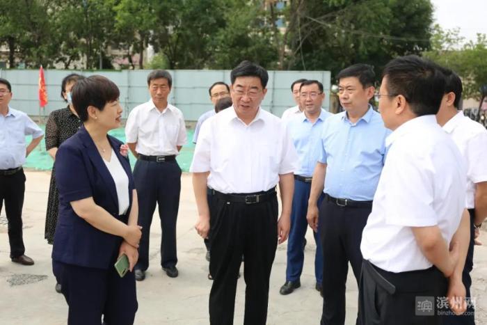 副市长穆杰调研滨州医学院滨州校区建设情况